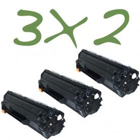 3x2 - HP 85A tóner sustituto , reemplaza al CE285A
