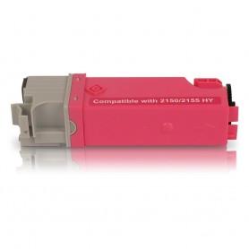 DELL 2150 - 2155 Magenta Tóner sustituto de alta capacidad
