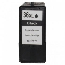 Lexmark 36XL Negro cartucho remanufacturado, reemplaza al Nº 36XL 18C2170E