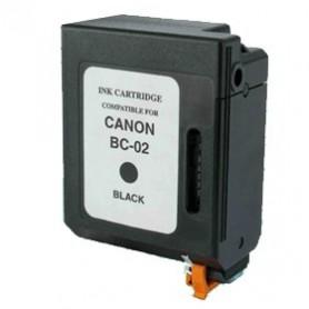 Canon BC02 y BX02 Negro cartucho compatible, reemplaza al BC-02 y BX-02