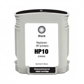 HP 10 Negro cartucho remanufacturado, reemplaza al C4844AE