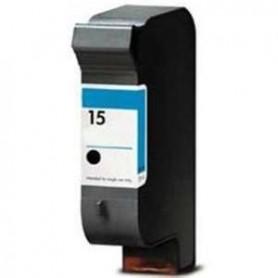 Cartucho remanufacturado Negro HP 15 reemplaza al C6615 de 42ml
