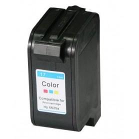 Cartucho remanufacturado Color HP 17 reemplaza al C6625, 47ml de capacidad