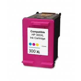 Cartucho remanufacturado Color HP 300XL, reemplaza al CC644EE