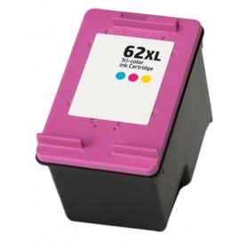 HP 62XL Color cartucho remanufacturado, reemplaza al C2P07AE