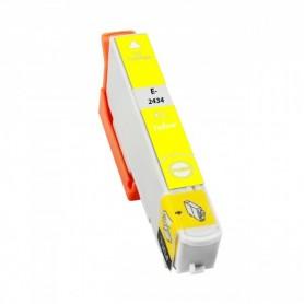 EPSON 24XL Amarillo cartucho compatible, reemplaza al T2424 y T2434 de alta capacidad