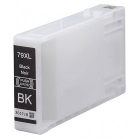 EPSON 79XL Negro cartucho compatible, reemplaza al T7891, T7901, T7911 de alta capacidad